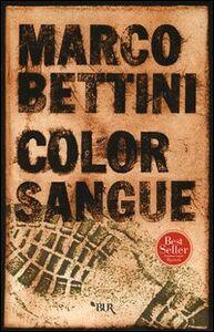 Libro Color sangue Marco Bettini