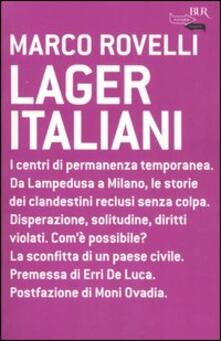 Lager italiani - Marco Rovelli - copertina