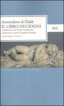 Premioquesti.it Il libro dei sogni. Testo greco a fronte Image