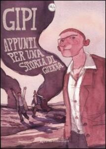 Appunti per una storia di guerra - Gipi - copertina