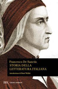 Libro Storia della letteratura italiana Francesco De Sanctis