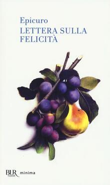 Lettera sulla felicità - Epicuro - copertina