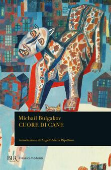 Cuore di cane - Michail Bulgakov - copertina