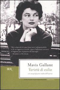 Libro Varietà di esilio Mavis Gallant