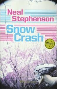 Snow crash - Neal Stephenson - copertina