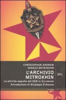 Daddyswing.es L' Archivio Mitrokhin. Le attività segrete del KGB in Occidente Image