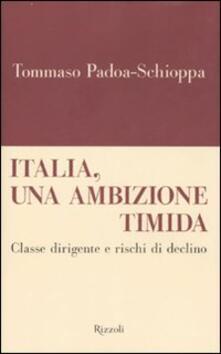 Steamcon.it Italia, un'ambizione timida. Classe dirigente e rischi di declino Image