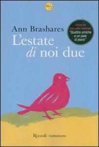 Libro L' estate di noi due Ann Brashares
