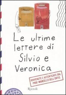 Writersfactory.it Le ultime lettere di Silvio e Veronica Image