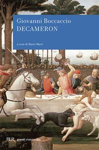 Foto Cover di Decameron, Libro di Giovanni Boccaccio, edito da BUR Biblioteca Univ. Rizzoli
