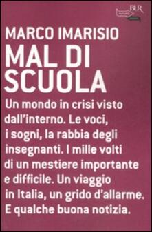 Mal di scuola - Marco Imarisio - copertina