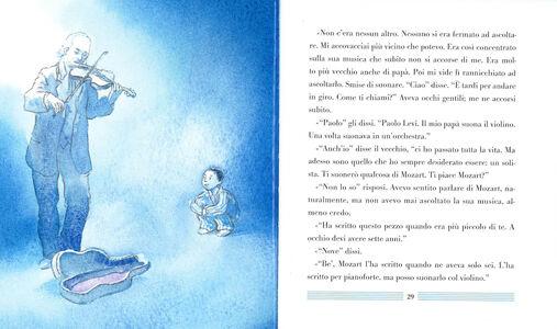 Foto Cover di La domanda su Mozart, Libro di Michael Morpurgo,Michael Foreman, edito da Rizzoli 2