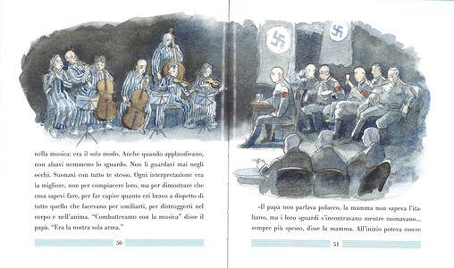 Libro La domanda su Mozart Michael Morpurgo , Michael Foreman 3