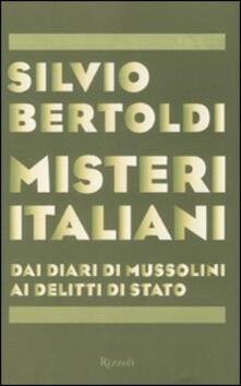 Warholgenova.it Misteri italiani. Dai diari di Mussolini ai delitti di Stato Image