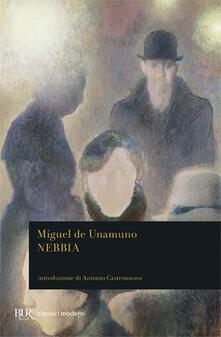Nebbia - Miguel de Unamuno - copertina