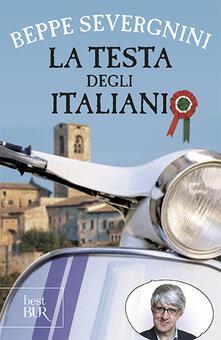 La testa degli italiani - Beppe Severgnini - copertina