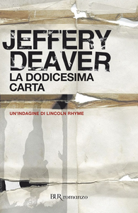 Libro La dodicesima carta Jeffery Deaver