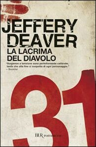 Libro La lacrima del diavolo Jeffery Deaver