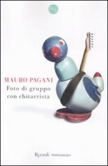 Foto di gruppo con chitarrista - Mauro Pagani - copertina