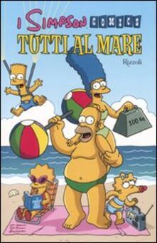 Promoartpalermo.it Tutti al mare. Simpson comics Image