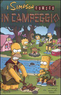 In campeggio. Simpson comics