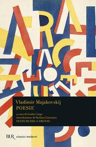 Libro Poesie. Testo russo a fronte Vladimir Majakovskij