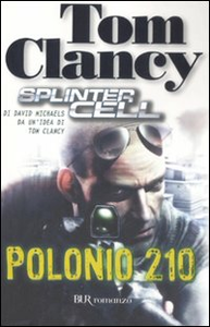 Libro Polonio 210. Splinter Cell Tom Clancy , David Michaels