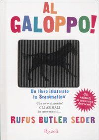 Al galoppo! Un libro illustrato in scanimation