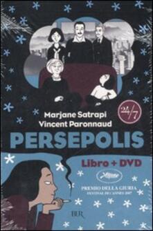 Persepolis. Con DVD - Marjane Satrapi,Vincent Paronnaud - copertina