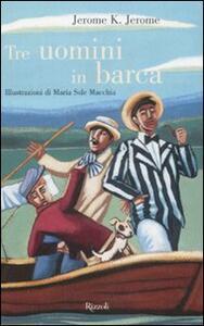 Tre uomini in barca - Jerome K. Jerome - copertina