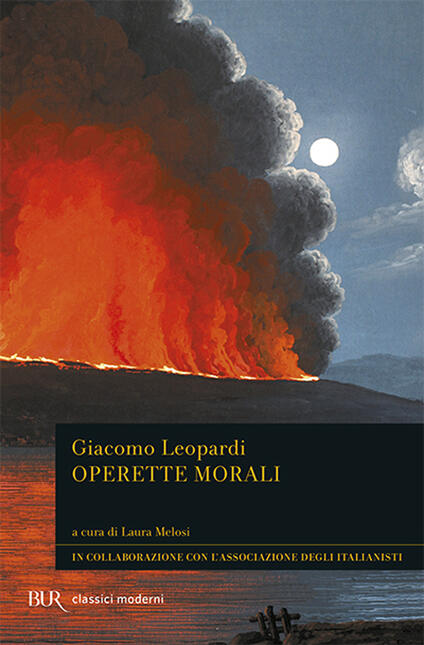 Operette morali - Giacomo Leopardi - copertina