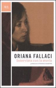Libro Intervista con la storia Oriana Fallaci