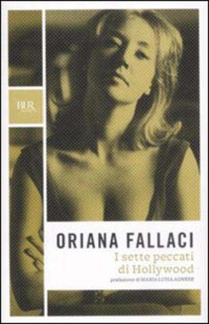 I sette peccati di Hollywood -  Oriana Fallaci - copertina