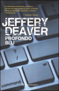 Libro Profondo blu Jeffery Deaver