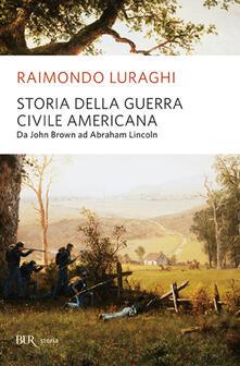 Storia della guerra civile americana - Raimondo Luraghi - copertina