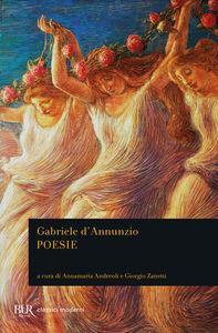 Libro Poesie Gabriele D'Annunzio