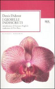 Libro I gioielli indiscreti Denis Diderot