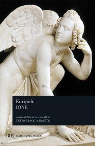 Libro Ione. Testo greco a fronte Euripide