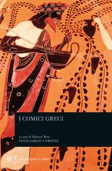 Winniearcher.com I comici greci. Testo greco a fronte Image