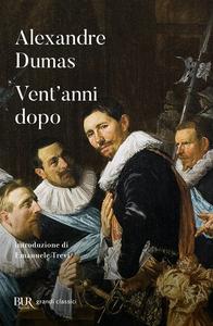 Libro Vent'anni dopo Alexandre Dumas