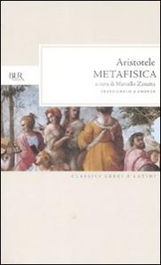 Libro Metafisica. Testo greco a fronte Aristotele
