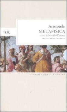 Winniearcher.com Metafisica. Testo greco a fronte Image
