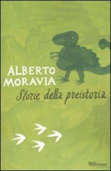 Storie della preistoria - Alberto Moravia - copertina
