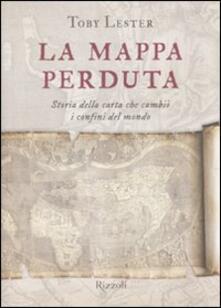 Associazionelabirinto.it La mappa perduta. Storia della carta che cambiò i confini del mondo Image