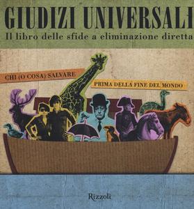 Libro Giudizi universali. Il libro delle sfide a eliminazione diretta