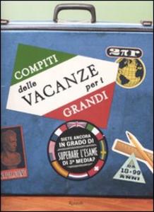 Libro Compiti delle vacanze per i grandi
