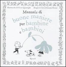Camfeed.it Manuale di buone maniere per bambine e bambini Image