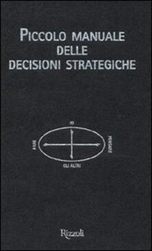 Grandtoureventi.it Piccolo manuale delle decisioni strategiche Image
