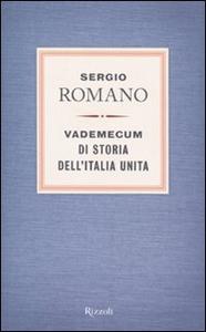 Libro Vademecum di storia dell'Italia unita Sergio Romano