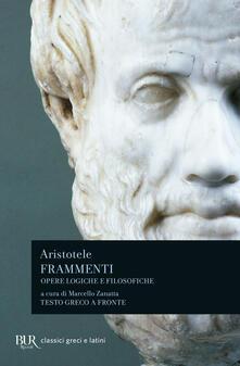 Frammenti. Opere logiche e filosofiche. Testo greco a fronte.pdf